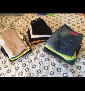 Пакетом Майки кофты джинсы 42-44-46