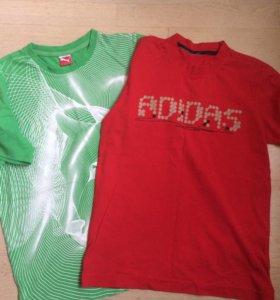 Adidas Puma 152 футболки