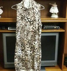 леопардовое платье  🐯🍷