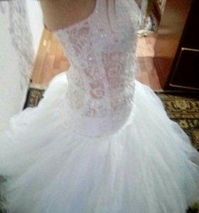 Счастливое свадебное платье!!!