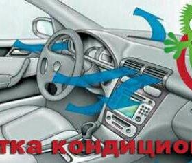 Дизинфекция кондиционера автомобилей