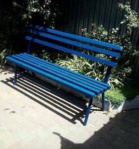 Переносная скамейка 150см