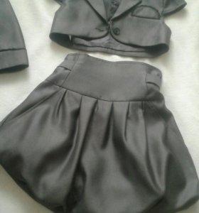 Школьный костюм-четверка