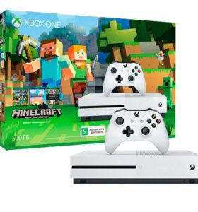 Xbox ONE S 4K 500Gb новый + куча игр