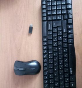 Мышь и клавиатура беспроводные