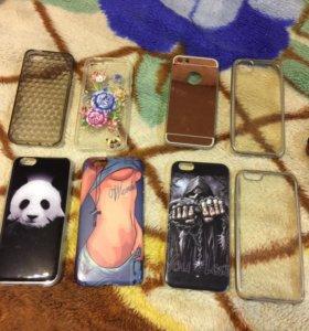Продам чехлы на IPhone 5,5s-6,6s