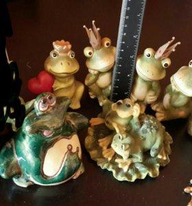 Лягушка фигурки