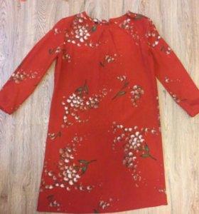 Платье Mango suit свободного кроя.