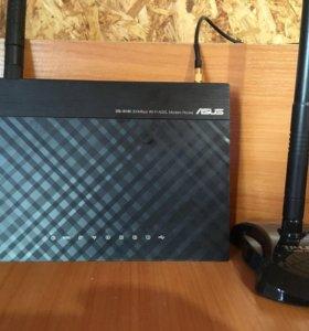 ADSL WI-FI роутер