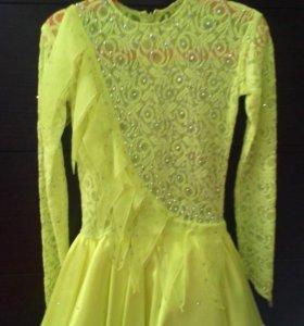 Платье для фигурного катания.