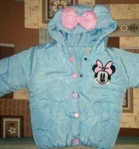 Куртка для девочки 2 лет.