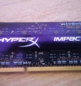 Hyperx impact ddr3 4gb 1600mhz