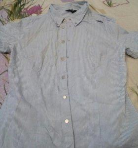 Рубашка на заклепках