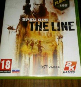 """Диск на XBOX360 """"SPEC OPS THE LINE"""""""