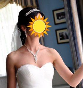 Диадема и свадебная бижутерия