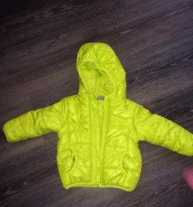 Куртка весна-осень. 74 размер