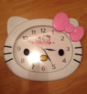 Новые Часы hello kitty настенные