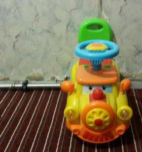 Детский толокатор машинка