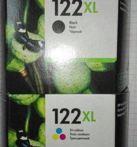 Картридж HP 121XL цветной+чёрный комплект