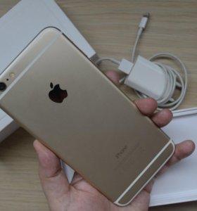 iPhone 6 Plus 128 гб + чехлы