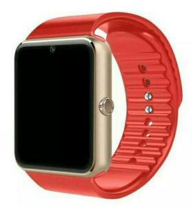 Умные часы smart watch gt08 красные