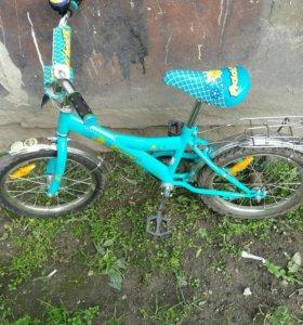 Велосипед детский 16 колеса