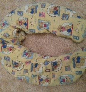 Подушку для беременной и для кормления