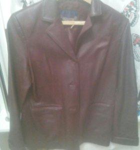 Пиджак, куртка кожаная