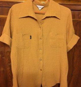 Блузка песочного цвета SunnLao