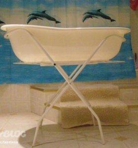 Детская ванна на подставке