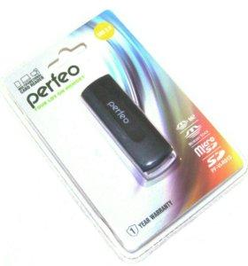 Картридер USB 2.0 17 в 1 Perfeo PF-VI