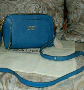 Новая сумочка gaude оригинал Италия нат кожа