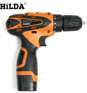 Шуруповерт аккумуляторный HILDA 16,8V