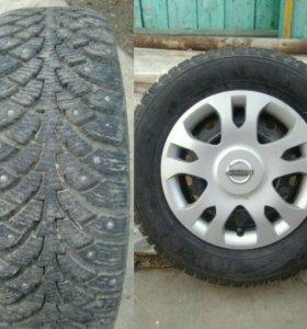 Продам колёса на зимней резине NORDMAN