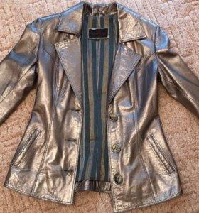 Пиджак-Куртка Mondial утеплённый кожа р.42-44, 46