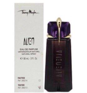 Тестер.Thierry Mugler.Alien. eau de parfum.90мл