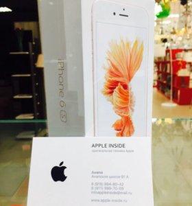 iPhone 6s 16gb Розовый, НОВЫЙ ОРИГИНАЛ
