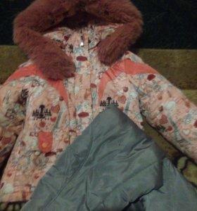 Куртка ,полукомбинезон и жилетка