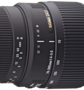 Sigma 70-300mm F/4-5.6 DG Macro для Canon