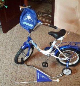 Продам новый детский велосипед.