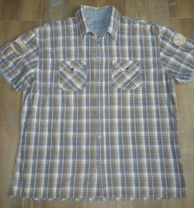 Рубашка Tom Tailor XXL в клетку
