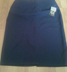 Новая юбка-карандаш на об б 98/100