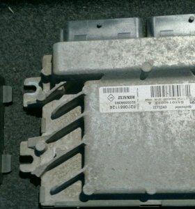 Блок управления двигателем рено логан