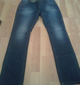 Новые джинсы на худого ребёнка рост 150/155