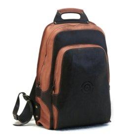 Городской кожаный рюкзак qz214