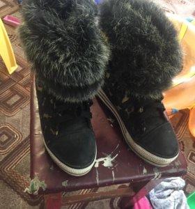 Ботинки,осень