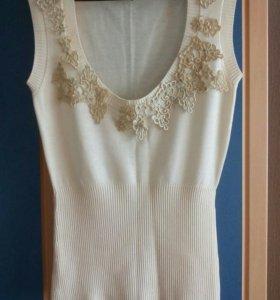 Блузка без рукавов, размер М