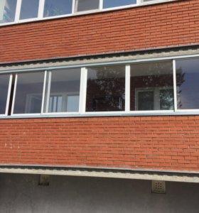 Окна с лоджии (остекление)