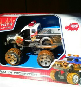 Игрушечные машинка Dickie rally monster