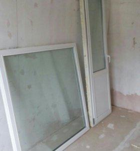 Балконное окно и дверь